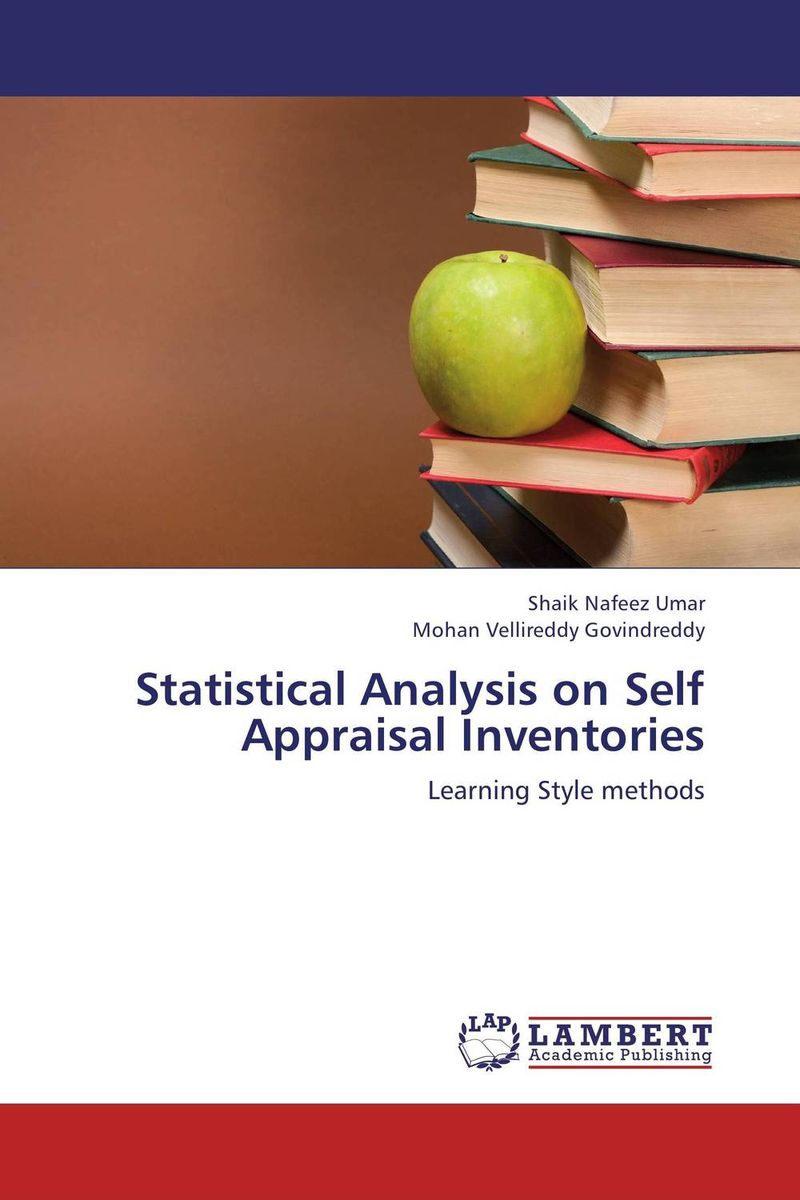 цены  Statistical Analysis on Self Appraisal Inventories