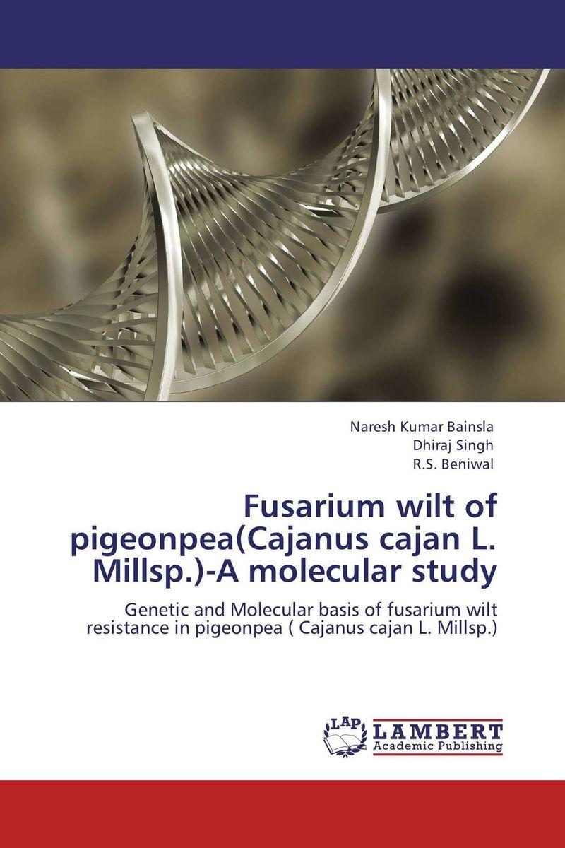 Fusarium wilt of pigeonpea(Cajanus cajan L. Millsp.)-A molecular study sutapa dutta nagendra kumar singh and tapas kumar bandyopadhyay transcriptome sequencing in pigeonpea [cajanus cajan l millsp ]