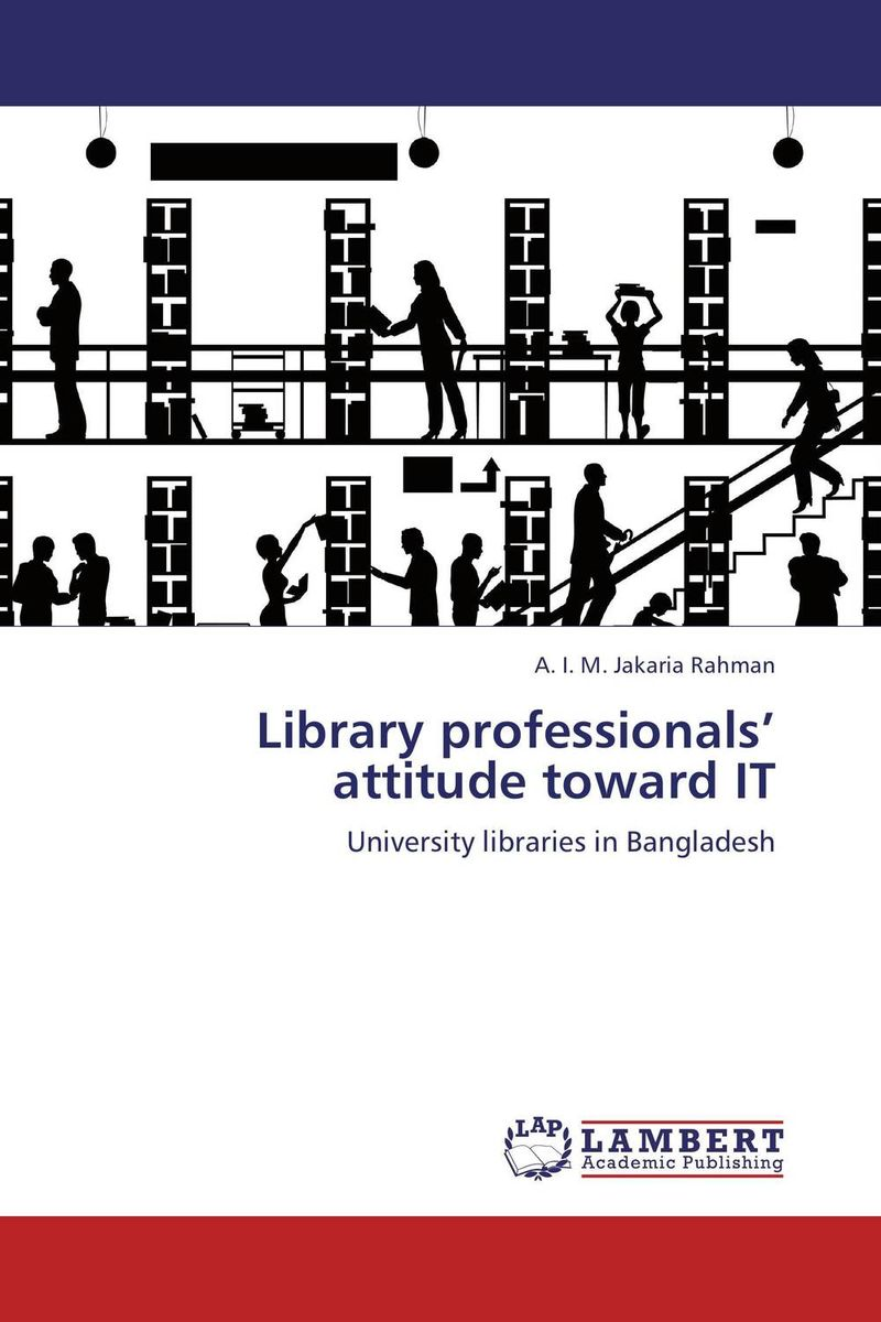 Library professionals' attitude toward IT locus of control and attitude toward seeking counseling help