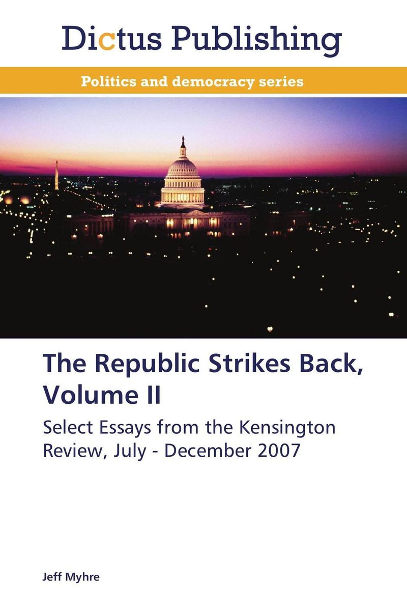 The Republic Strikes Back, Volume II the comedy of errors