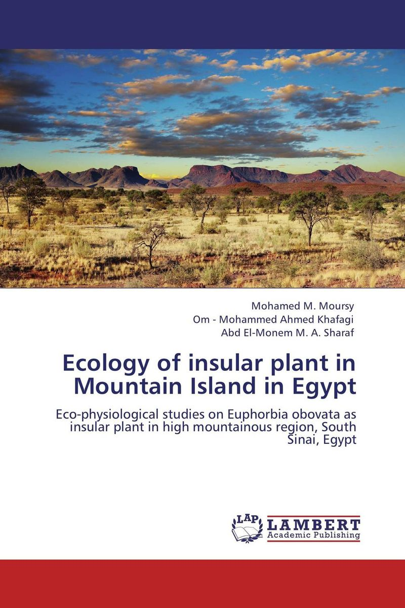 Ecology of insular plant in Mountain Island in Egypt vegetation ecology in nnp