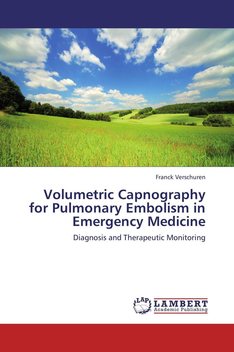 Volumetric Capnography for Pulmonary Embolism in Emergency Medicine earth observation for land and emergency monitoring