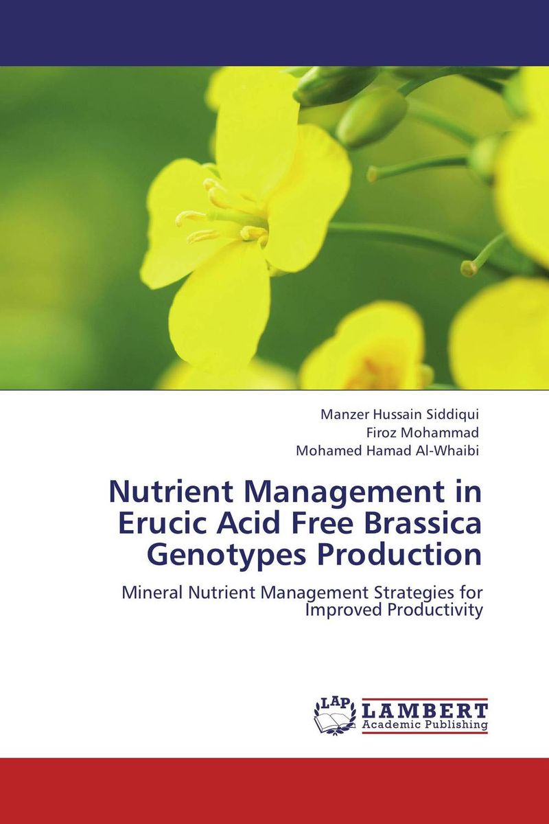 Nutrient Management in Erucic Acid Free Brassica Genotypes Production plant mineral nutrition