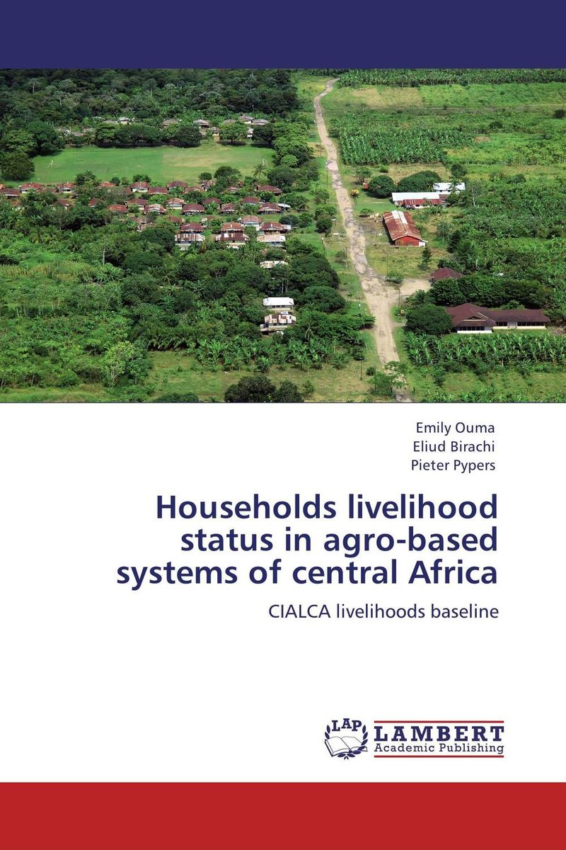 Households livelihood status in agro-based systems of central Africa сумка lamania lamania la002bwvdv12