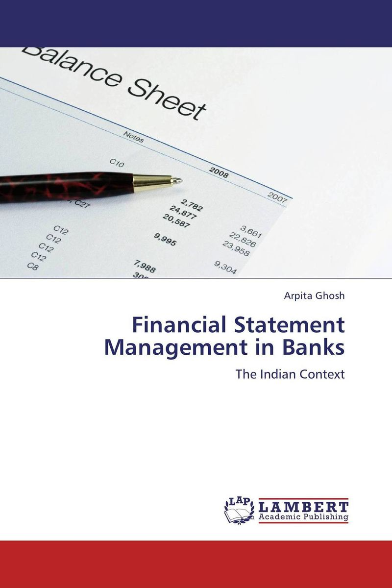 Financial Statement Management in Banks ittelson thomas financial statements