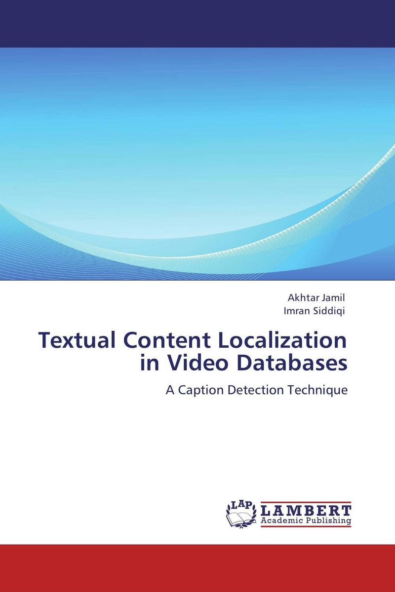 Textual Content Localization in Video Databases a system for generation of face images from textual descriptions