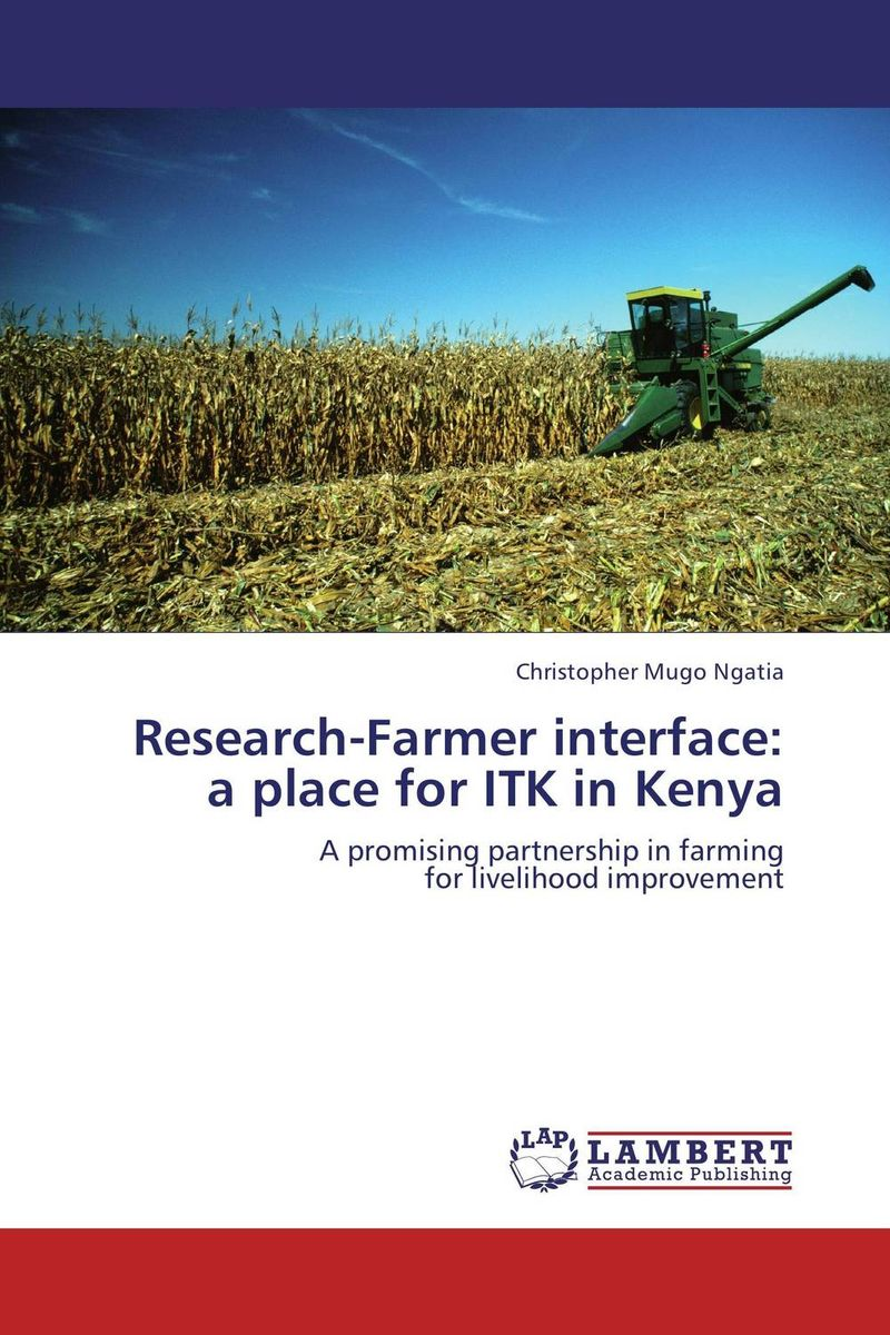 Research-Farmer interface:  a place for ITK in Kenya artittaya phongphom and soparth pongquan farmer s network approach
