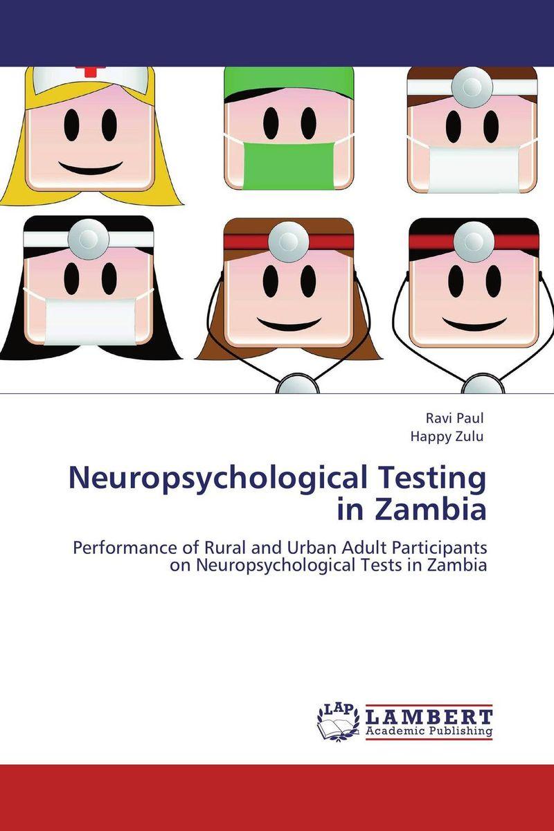 где купить  Neuropsychological Testing in Zambia  по лучшей цене