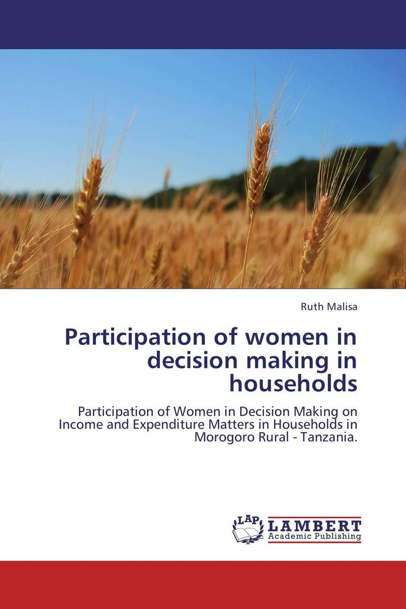 Participation of women in decision making in households peter brinckerhoff c smart stewardship for nonprofits making the right decision in good times and bad