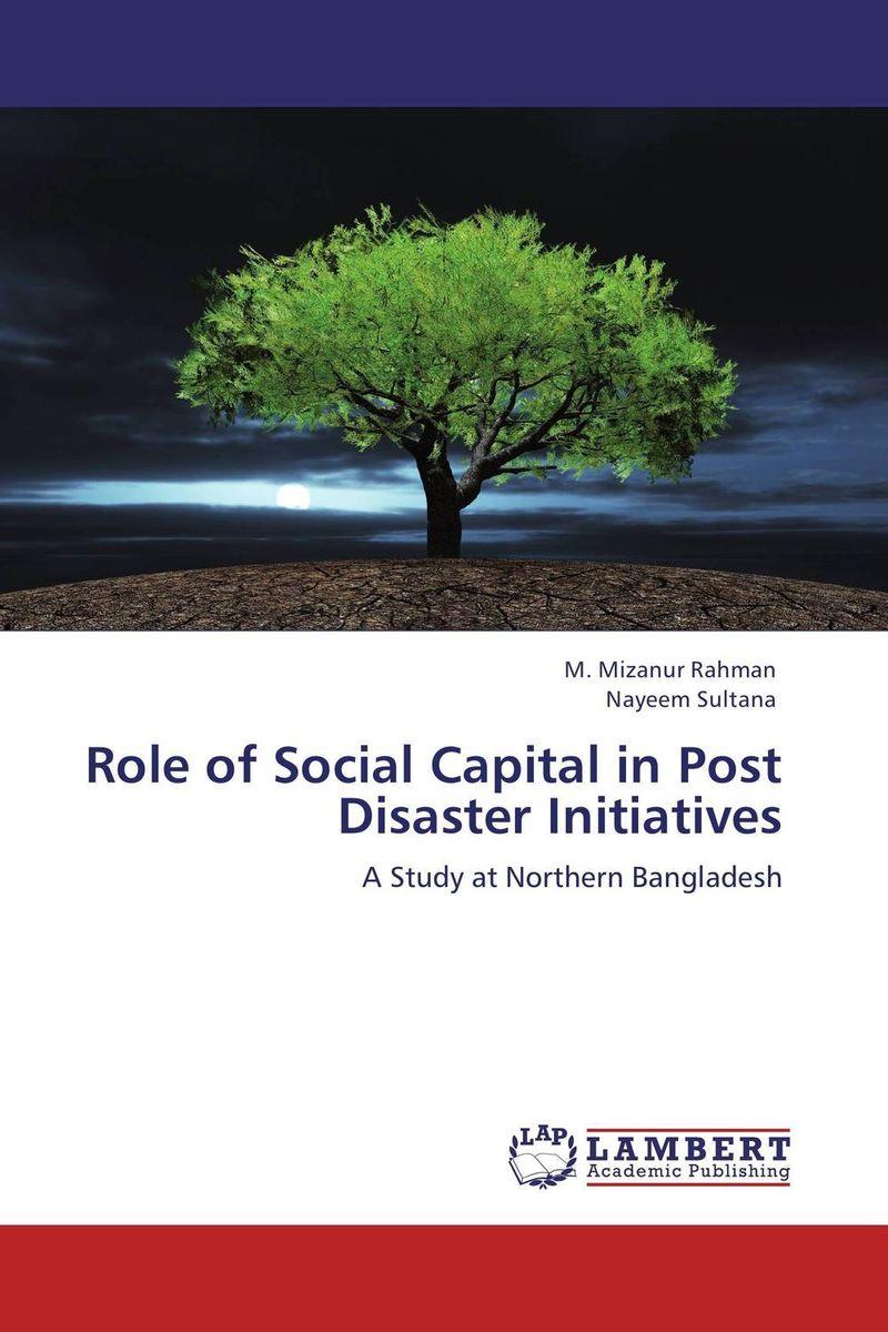 Role of Social Capital in Post Disaster  Initiatives geopolitics of disaster relief and role of diplomacy