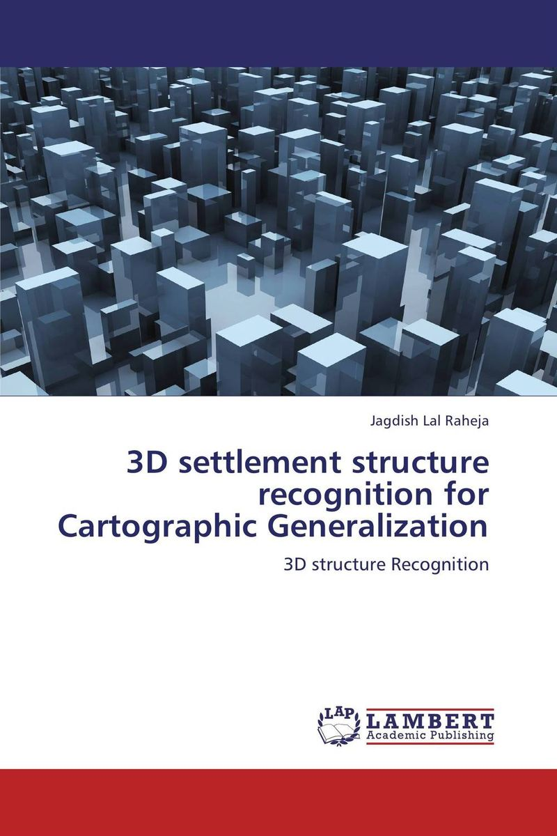 3D settlement structure recognition for Cartographic Generalization structure sensor 3d scanner