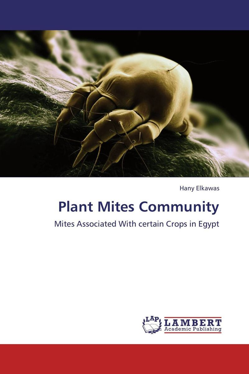 Plant Mites Community studies on some snails associated with different crops