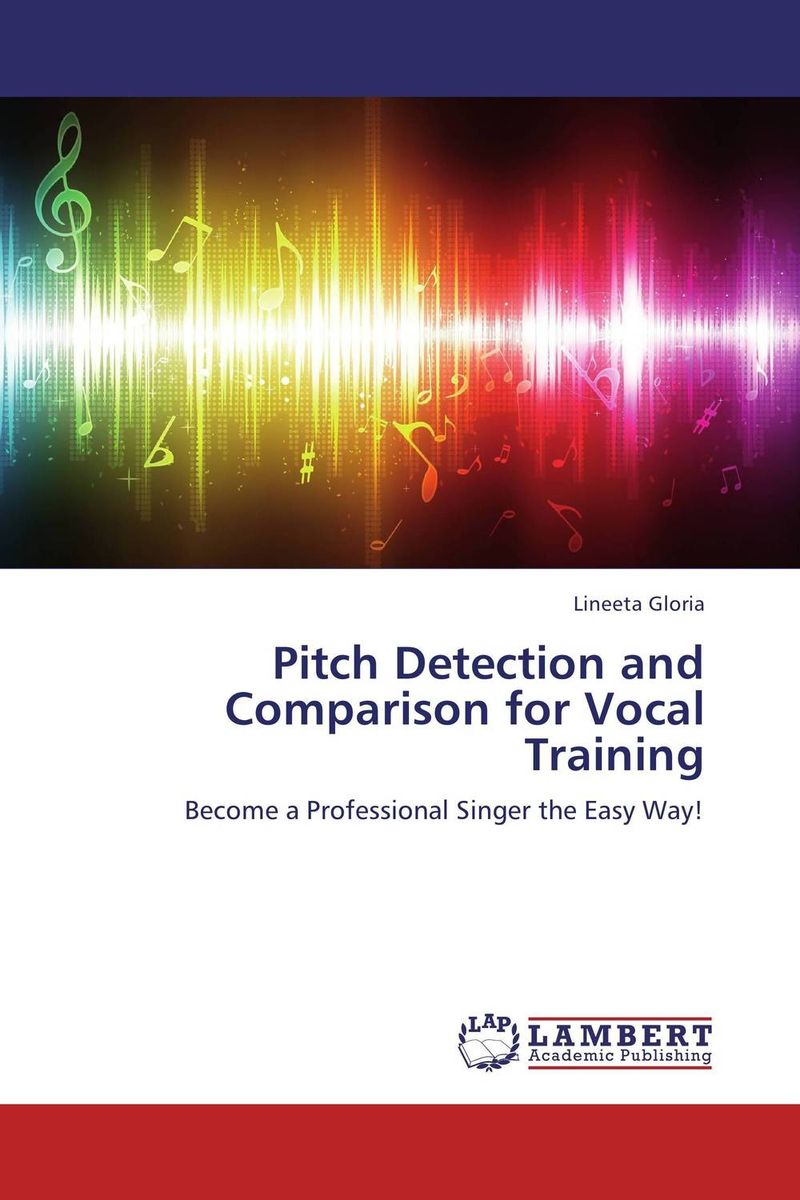 Pitch Detection and Comparison for Vocal Training картины в квартиру картина vocal fabric of the singer rosa silber 102х130 см