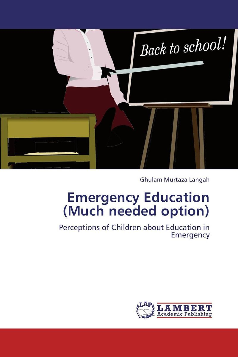 Emergency Education (Much needed option) earth observation for land and emergency monitoring
