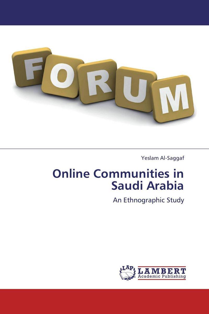 Online Communities in Saudi Arabia journalists and online communities