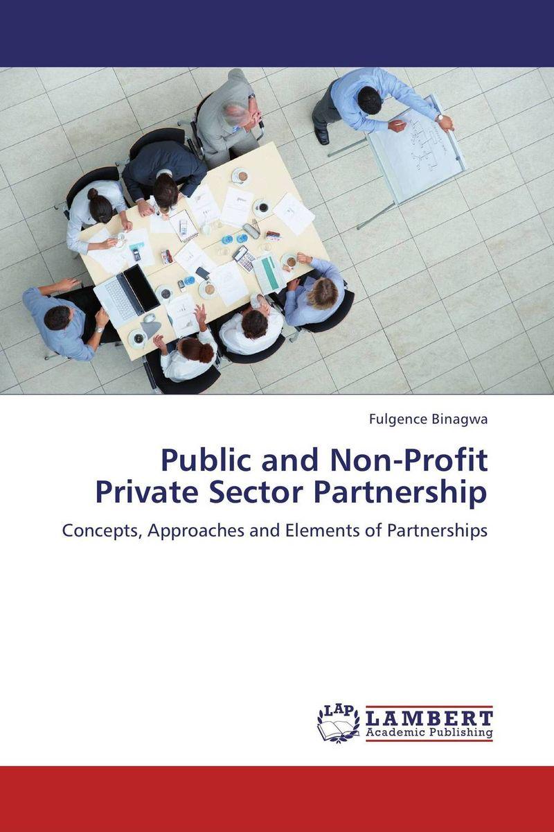 Public and Non-Profit Private Sector Partnership