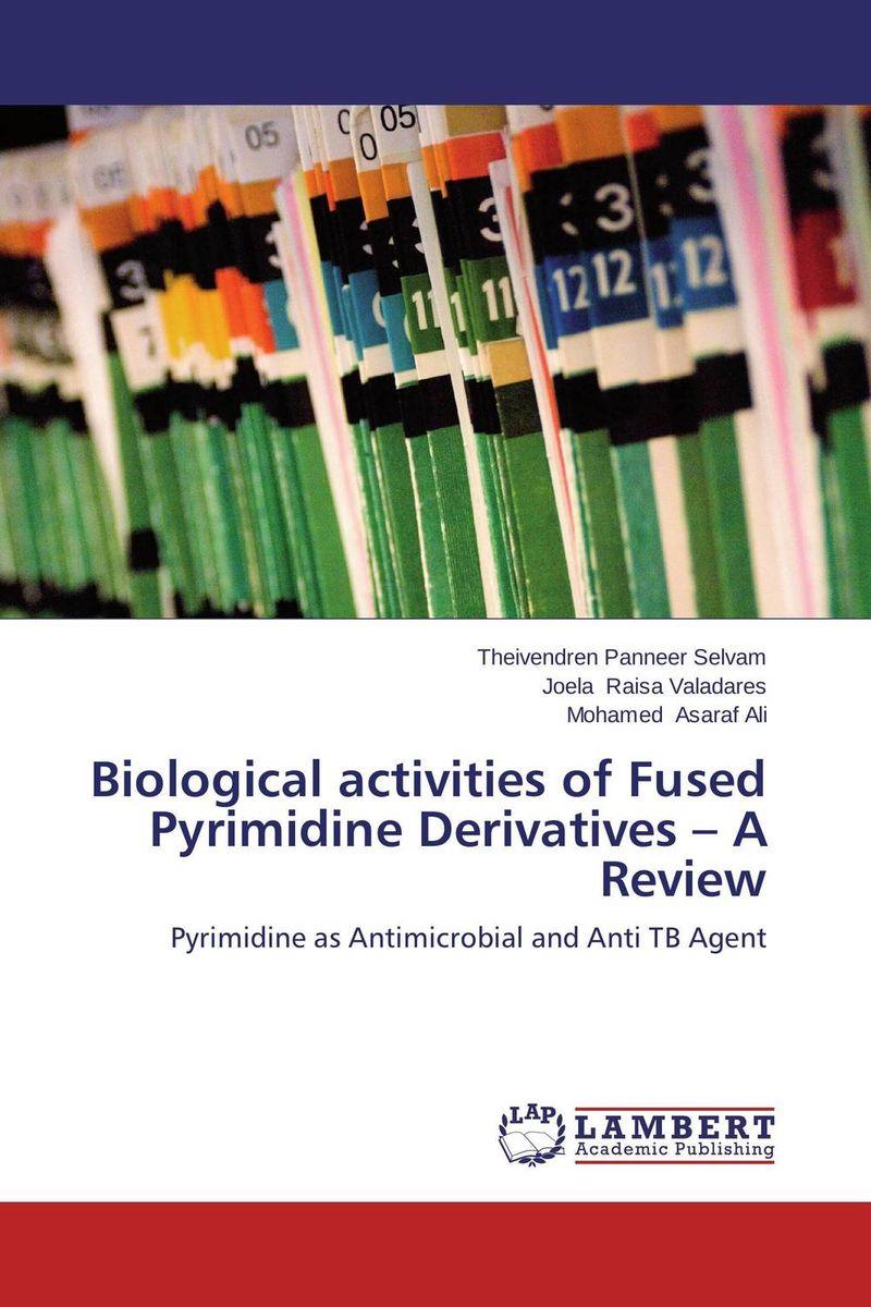 купить Biological activities of Fused Pyrimidine Derivatives – A Review недорого