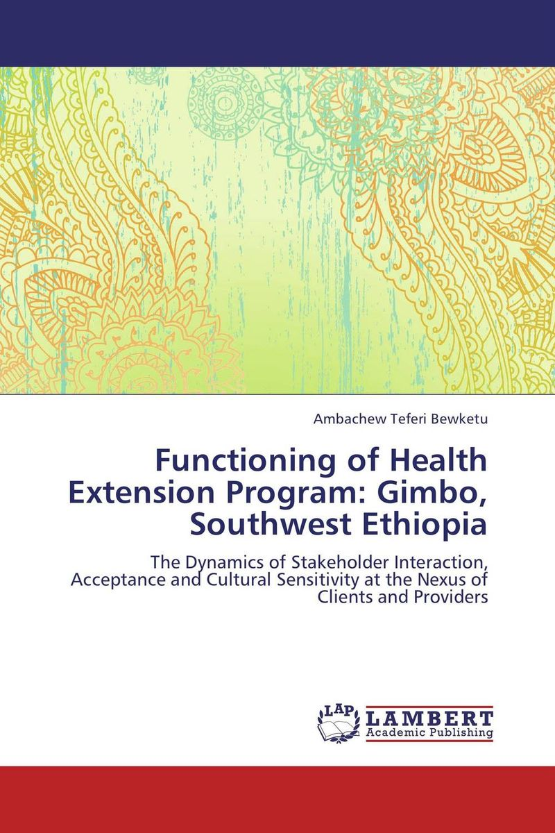 Functioning of Health Extension Program: Gimbo, Southwest Ethiopia prostate health devices is prostate removal prostatitis mainly for the prostate health and prostatitis health capsule