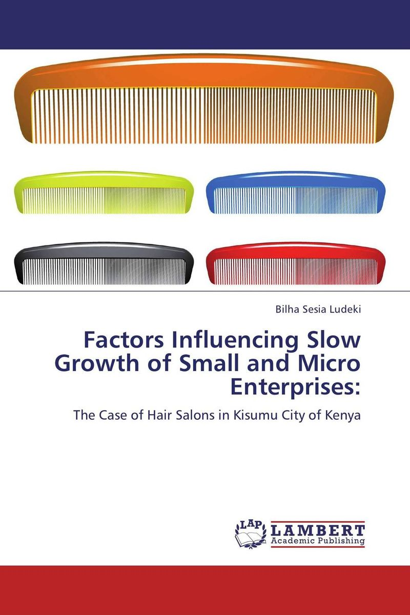 Factors Influencing Slow Growth of Small and Micro Enterprises: seeing things as they are