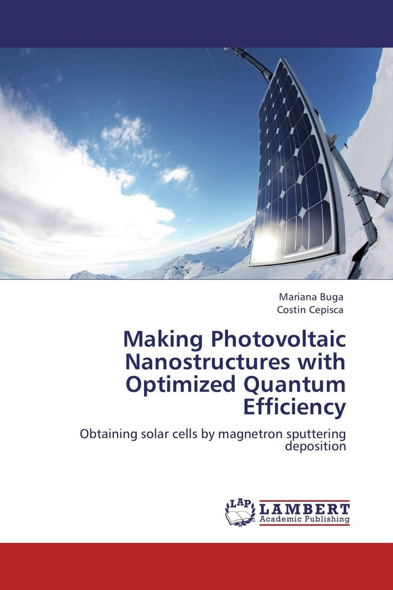 Making Photovoltaic Nanostructures with Optimized Quantum Efficiency дисковая пила bosch pks 40 06033c5000