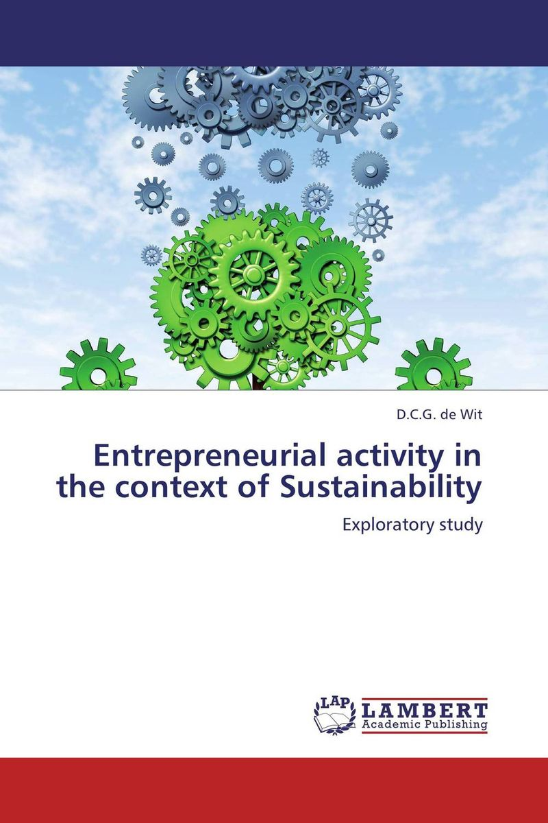 Entrepreneurial activity in the context of Sustainability cloud computing and sustainability energy efficiency aspects