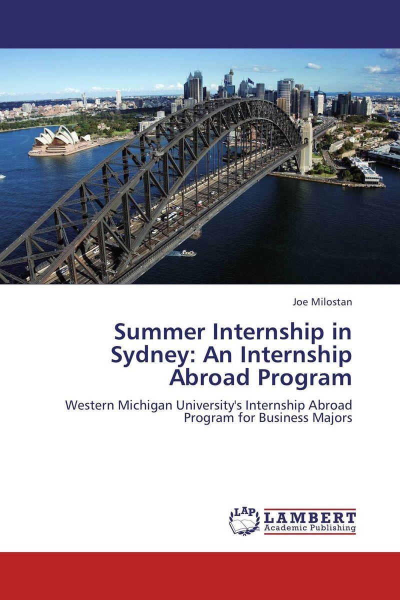 Summer Internship in Sydney: An Internship Abroad Program business abroad