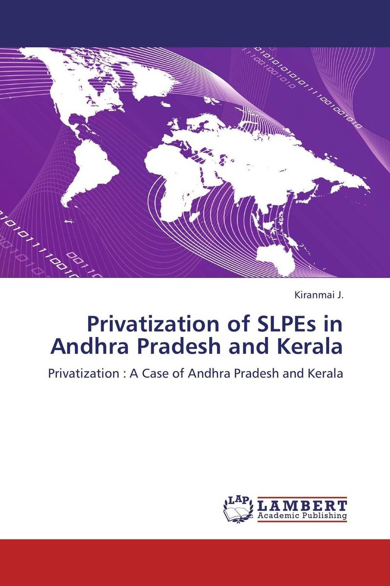Privatization of SLPEs in Andhra Pradesh and Kerala geochemistry of groundwater in a river basin of andhra pradesh india