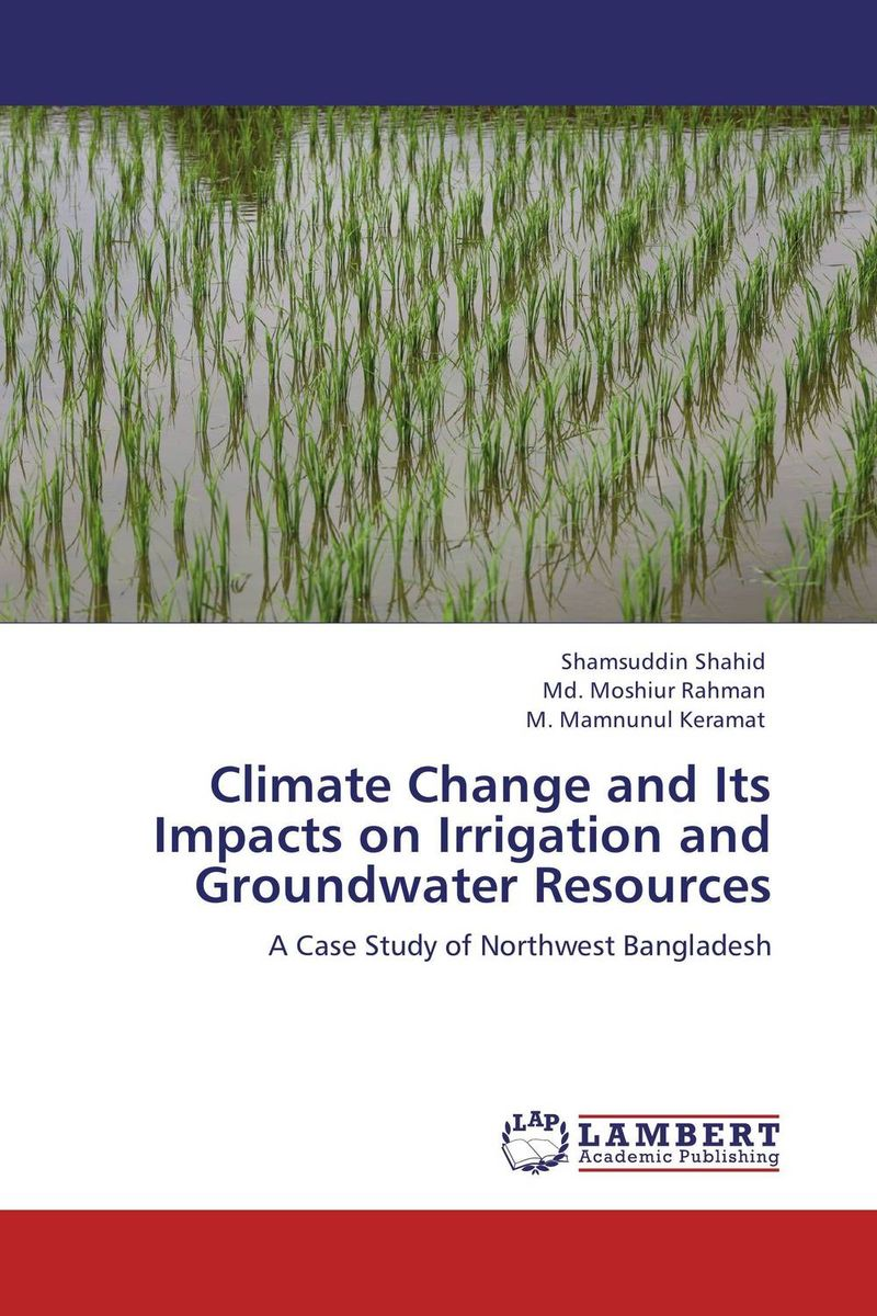 Climate Change and Its Impacts on Irrigation and Groundwater Resources