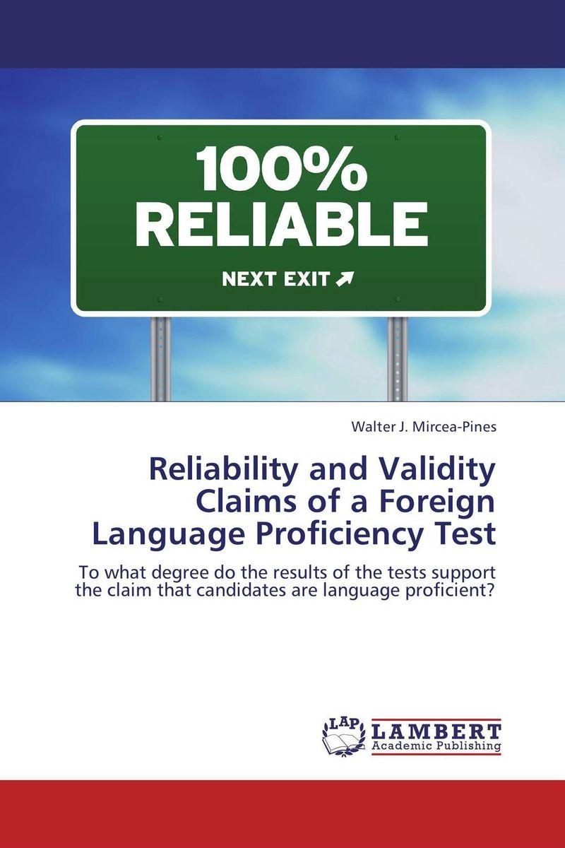 Reliability and Validity Claims of a Foreign Language Proficiency Test tomomatsu etsuko fukushima sachi nakamura kaori the japanese language proficiency test 3 grammar