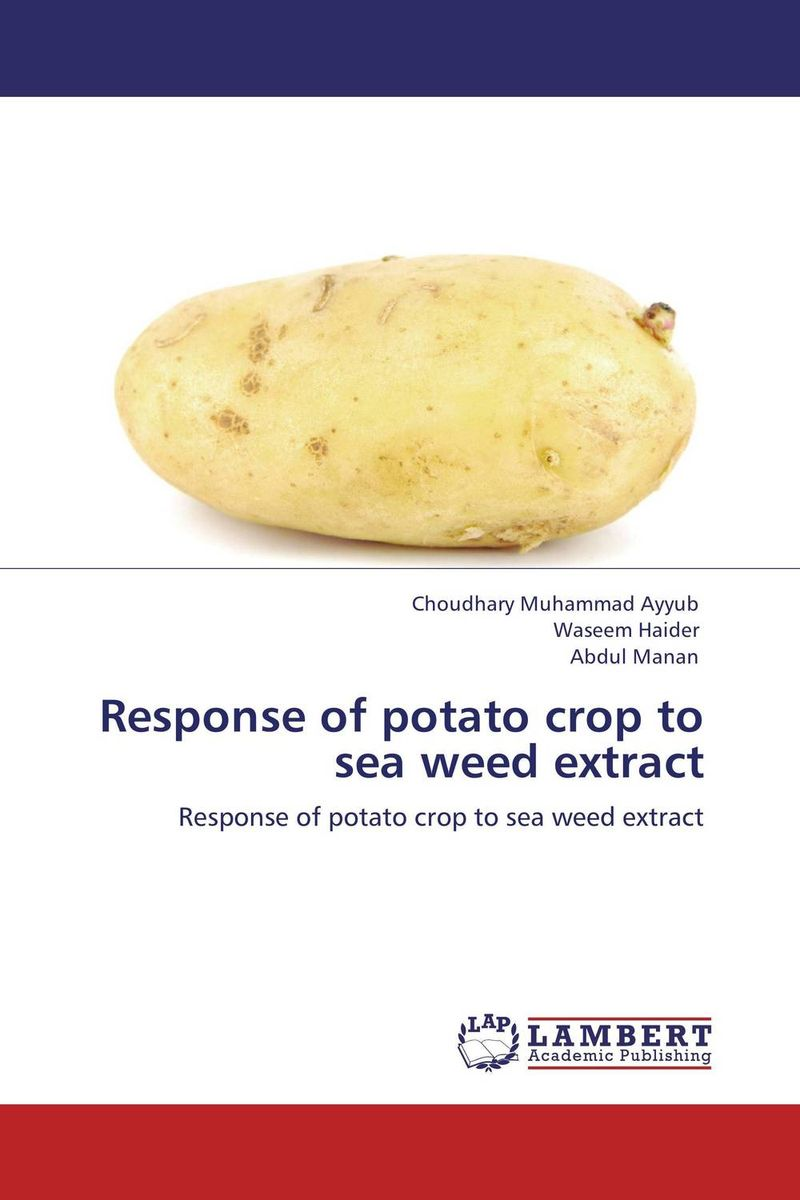 Response of potato crop to sea weed extract
