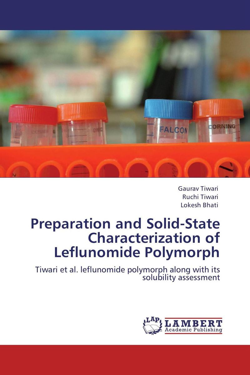 Preparation and Solid-State Characterization of Leflunomide Polymorph sonali singh sunil kumar prajapati and rahul pratap singh preparation and characterization of prednisolone loaded microsponges