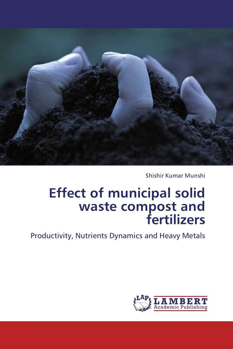 Effect of municipal solid waste compost and fertilizers marwan a ibrahim effect of heavy metals on haematological and testicular functions