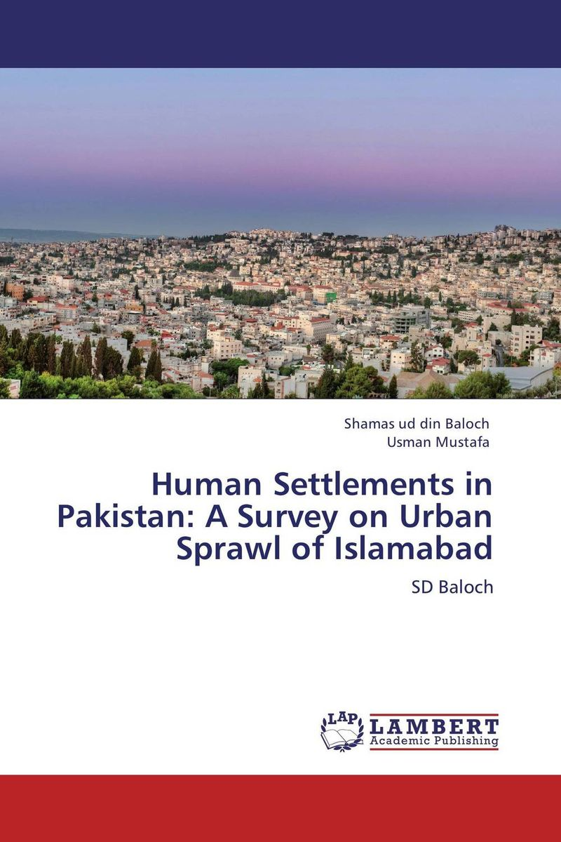 Human Settlements in Pakistan: A Survey on Urban Sprawl of Islamabad the corals of pakistan