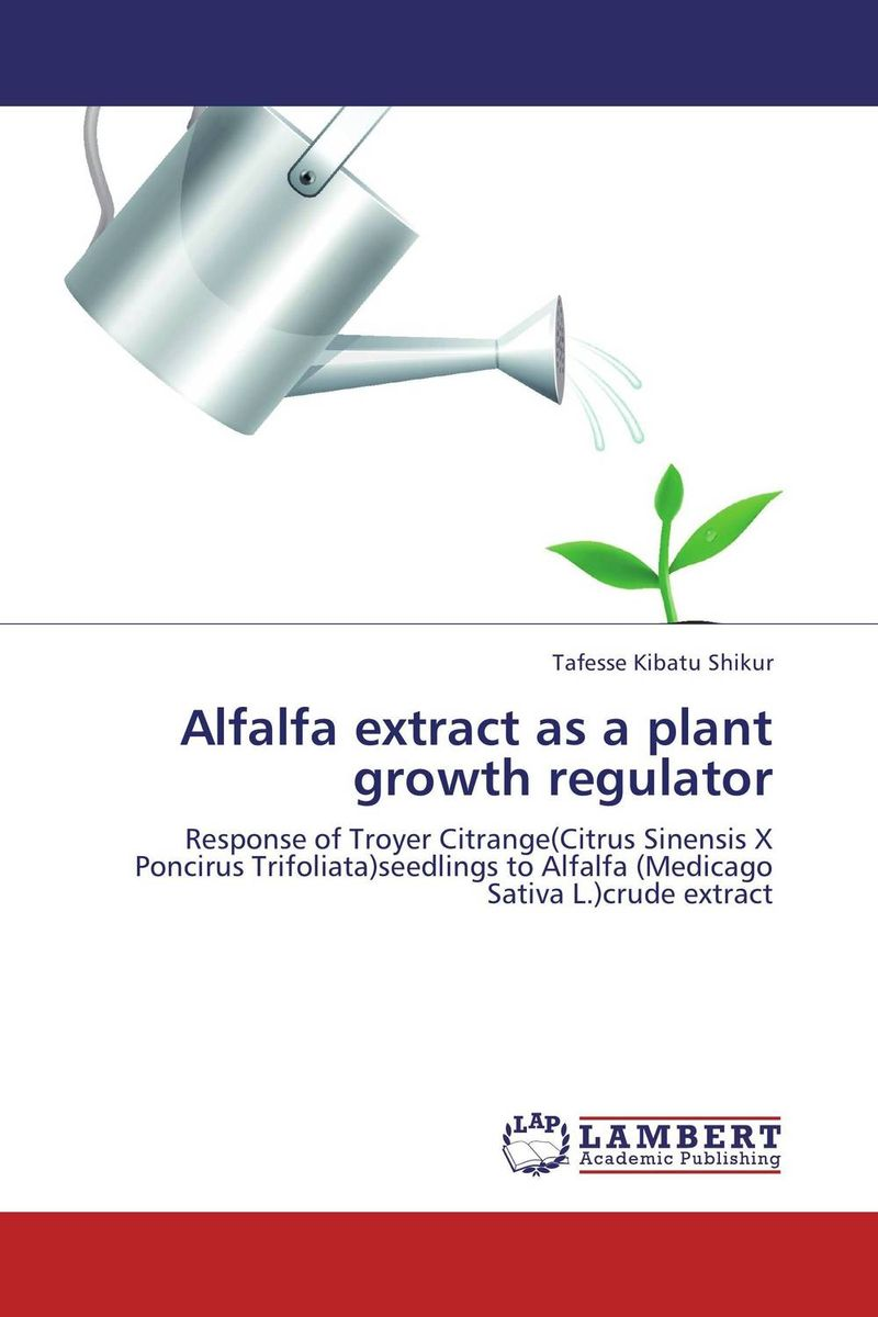 Alfalfa extract as a plant growth regulator spring in the garden flowers and seedlings
