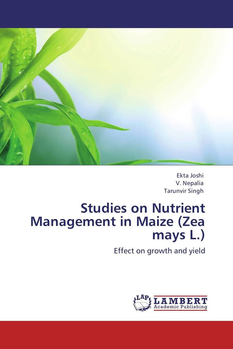 Studies on Nutrient Management in Maize (Zea mays L.) effect of zn fe and fym on growth yield and nutrient content of rice