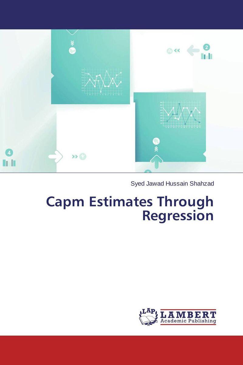 Capm Estimates Through Regression capital asset pricing model