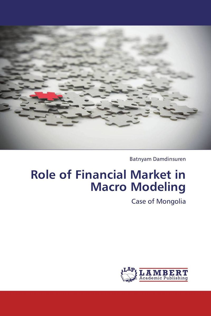 Role of Financial Market in Macro Modeling danielle stein fairhurst financial modeling in excel for dummies