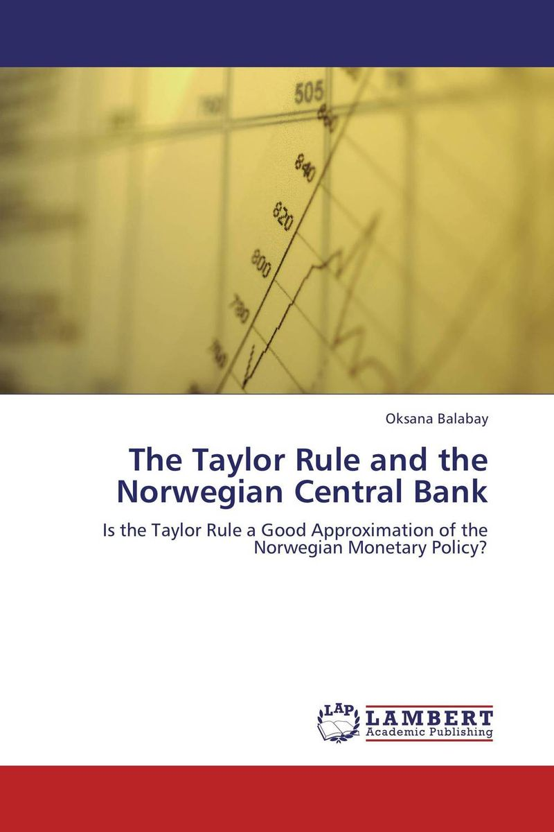 The Taylor Rule and the Norwegian Central Bank birds of the chesapeake bay – paintings by john w taylor with natural histories and journal notes by the artist