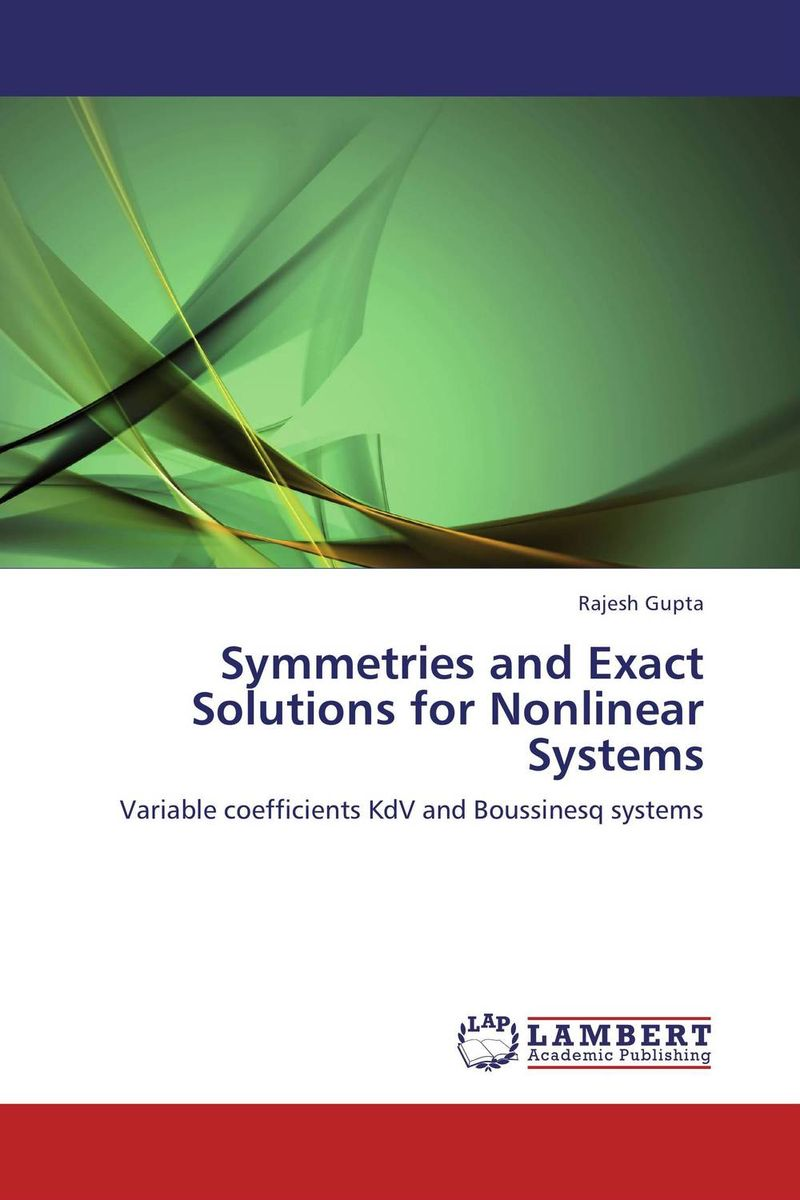 Symmetries and Exact Solutions for Nonlinear Systems symmetries and exact solutions for nonlinear systems