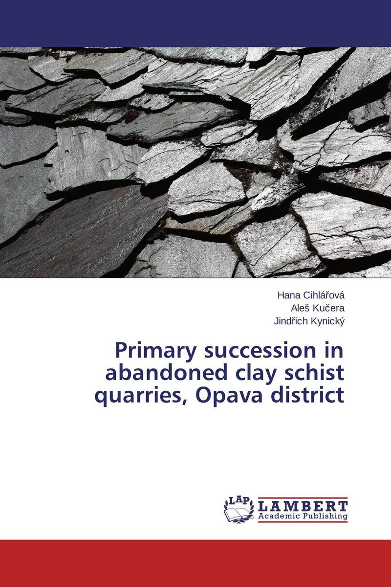 Primary succession in abandoned clay schist quarries, Opava district abandoned villages