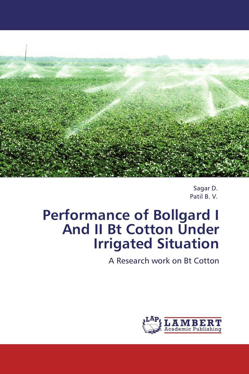 Performance of Bollgard I And II Bt Cotton Under Irrigated Situation wheat genotypes for irrigated and rainfed area using stress indices