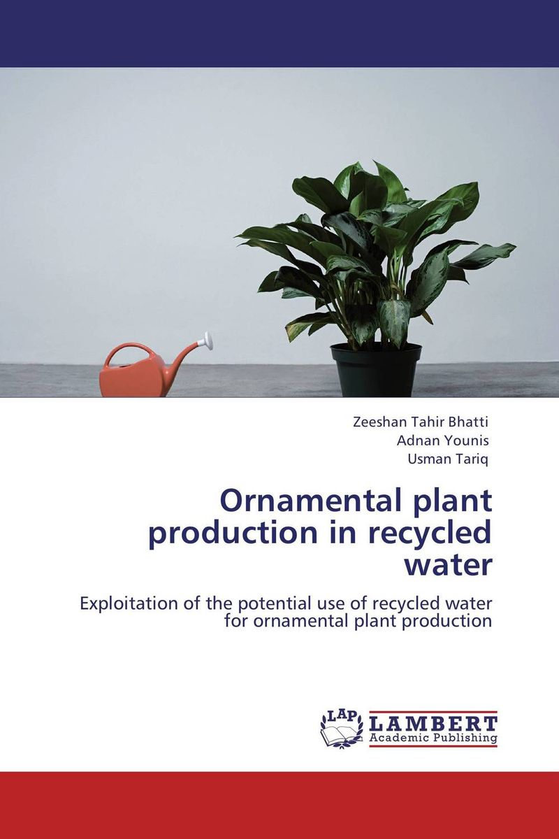 Ornamental plant production in recycled water plant mineral nutrition