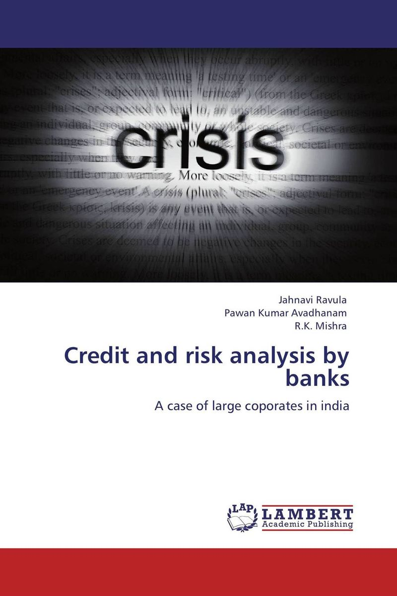 Credit and risk analysis by banks jahnavi ravula pawan kumar avadhanam and r k mishra credit and risk analysis by banks