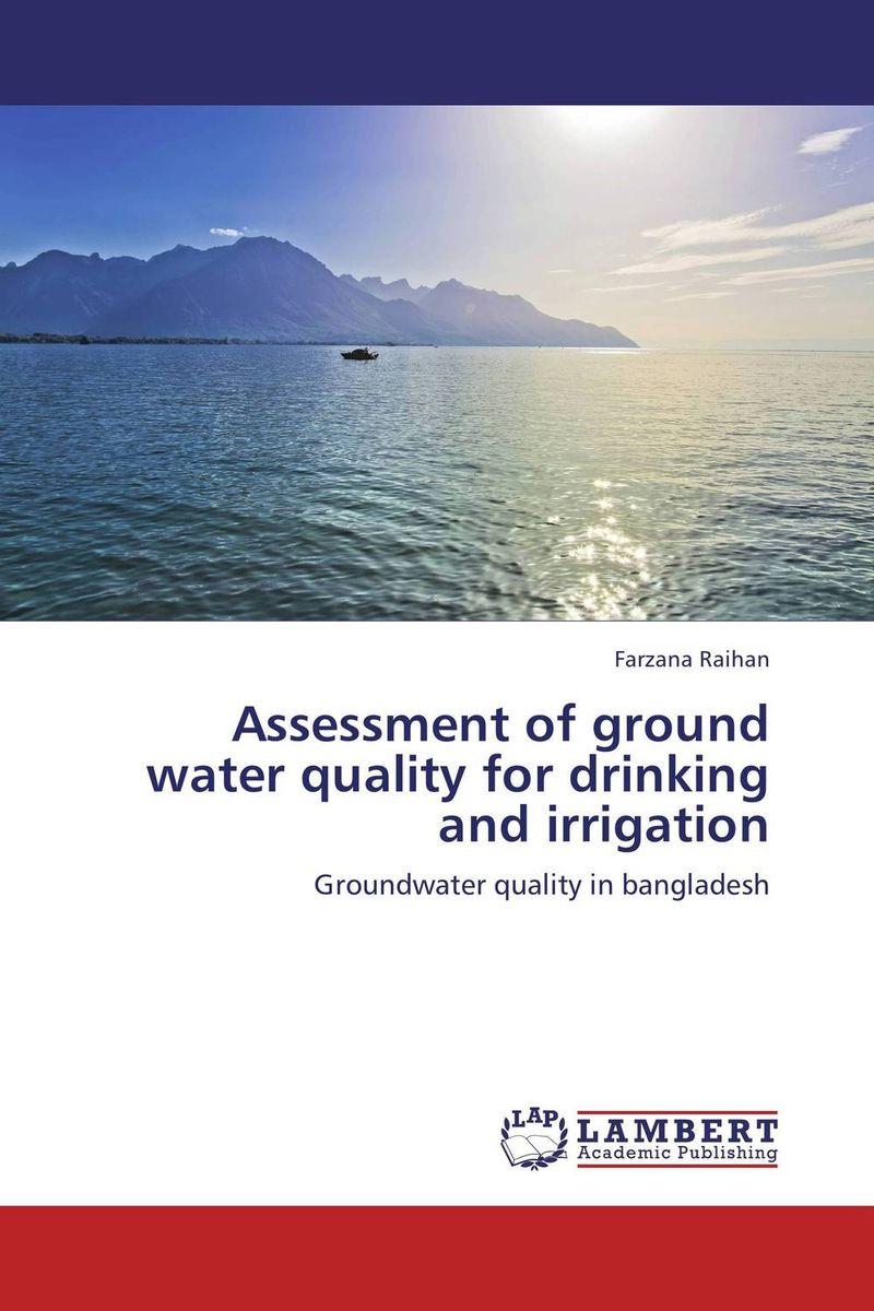Assessment of ground water quality for drinking and irrigation d d g l dahanayaka hideyuki tonooka and satoru ozawa satellite remote sensing for environmental assessment of water bodies