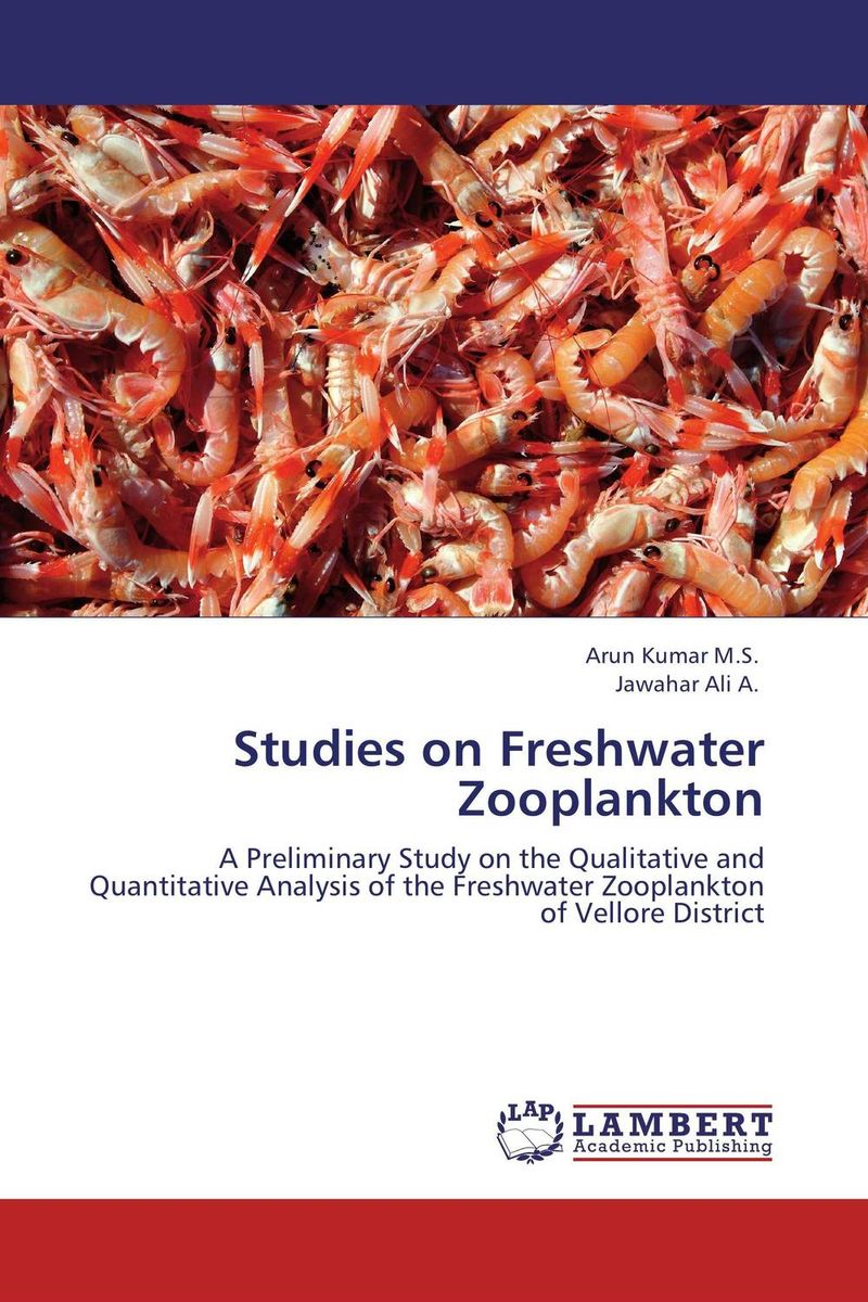 Studies on Freshwater Zooplankton a guide to common freshwater crustacean zooplankton of egypt