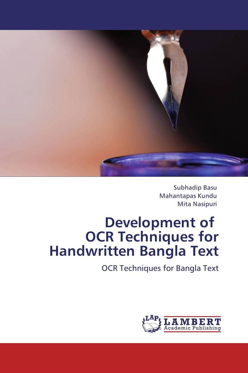 Development of   OCR Techniques for  Handwritten Bangla Text storing and retrieving xml documents to and from rdbms