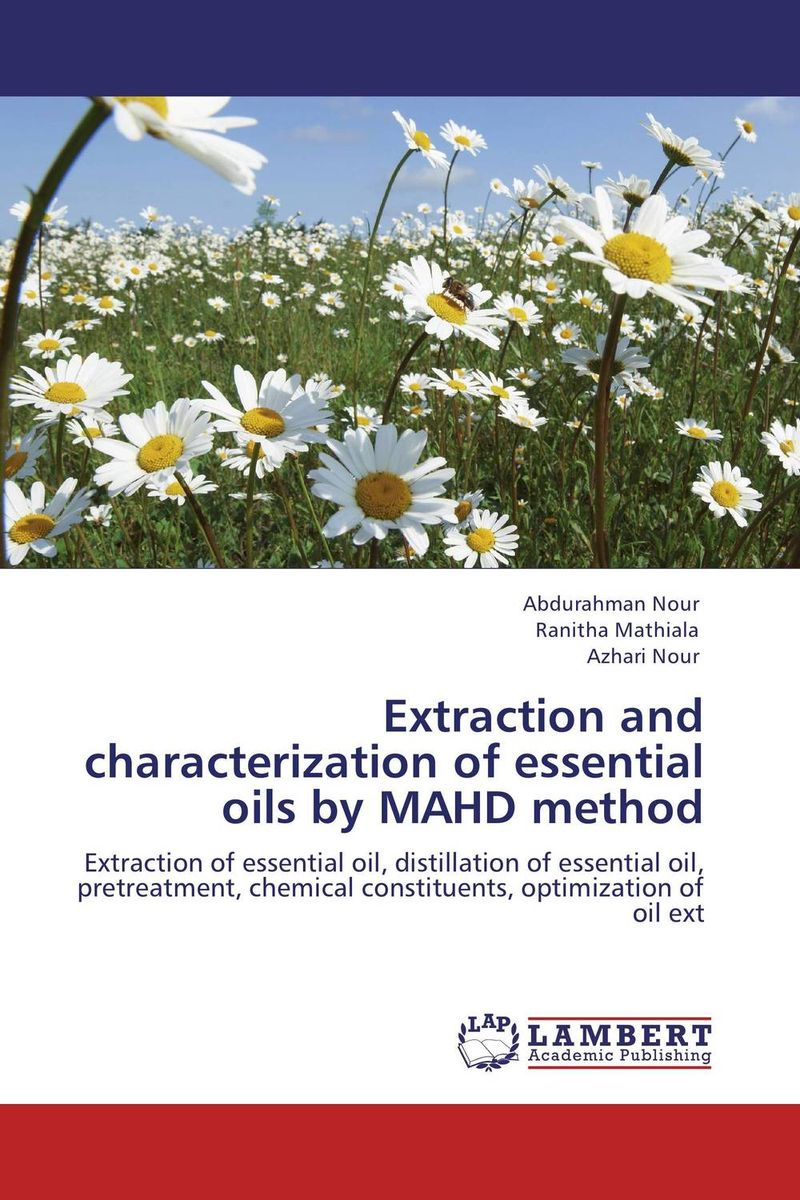 Extraction and characterization of essential oils by MAHD method user preference extraction from brain signals