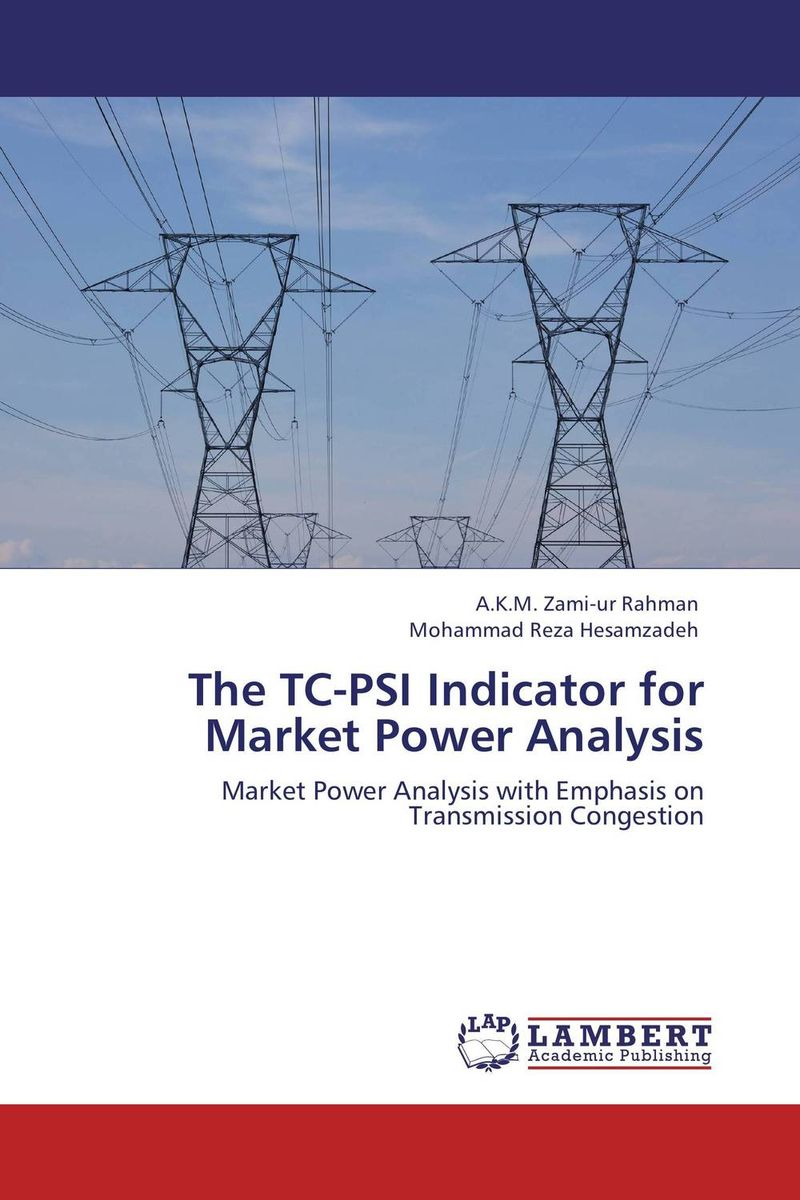 The TC-PSI Indicator for Market Power Analysis втулка задняя joy tech d142tse 32h ось м10х145х135мм под диск алюминий d142tse 32h