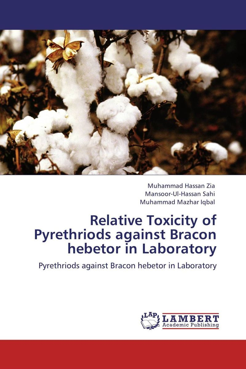 Relative Toxicity of Pyrethriods against Bracon hebetor in Laboratory toxic bachelors