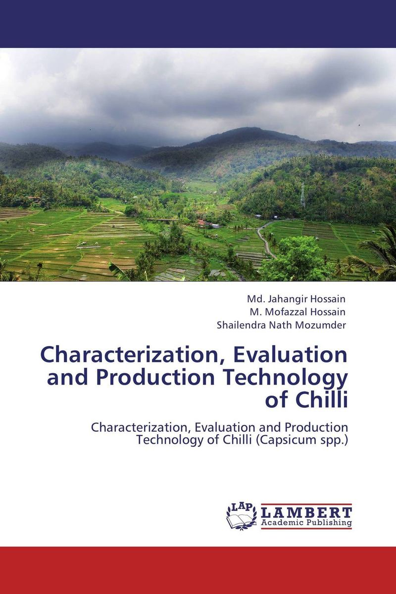 Characterization, Evaluation and Production Technology of Chilli the role of evaluation as a mechanism for advancing principal practice